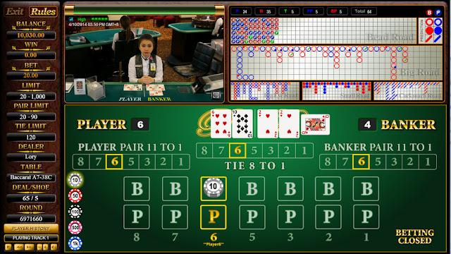 Panduan dan Peraturan Bermain Baccarat Live Casino