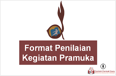 Download Format Penilaian Kegiatan Pramuka Terbaru Kurikulum 2013