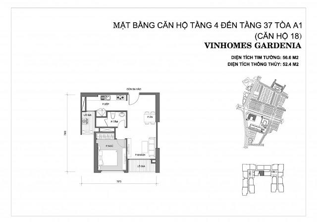 18 - Tòa A1 Vinhomes Gardenia