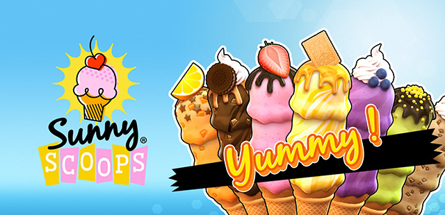 Sunny Scoops free video slot by Thunderkick