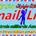 مفاجئة اليوم اليكم مليار ايميل ليست - Email List للتسويق , للربح اوافعل بها ماتشاء مجانا