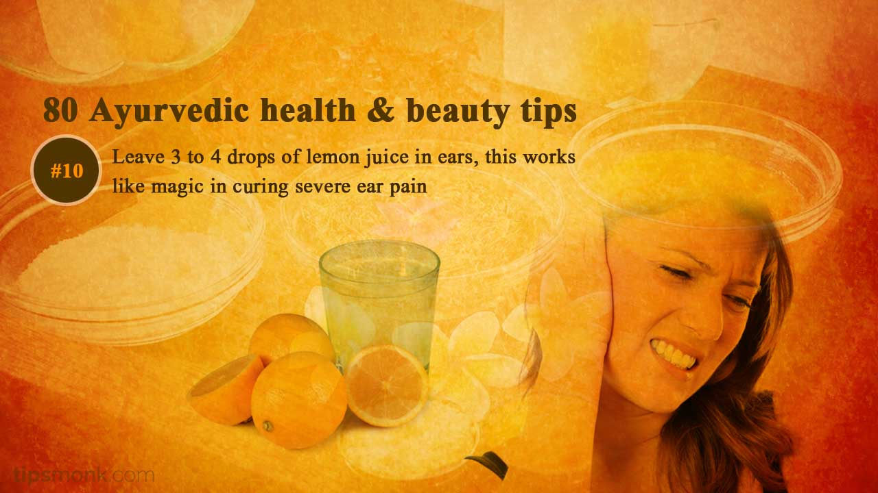Ayurvedic health tips for ear pain - Ayurveda home remedies, treatment image