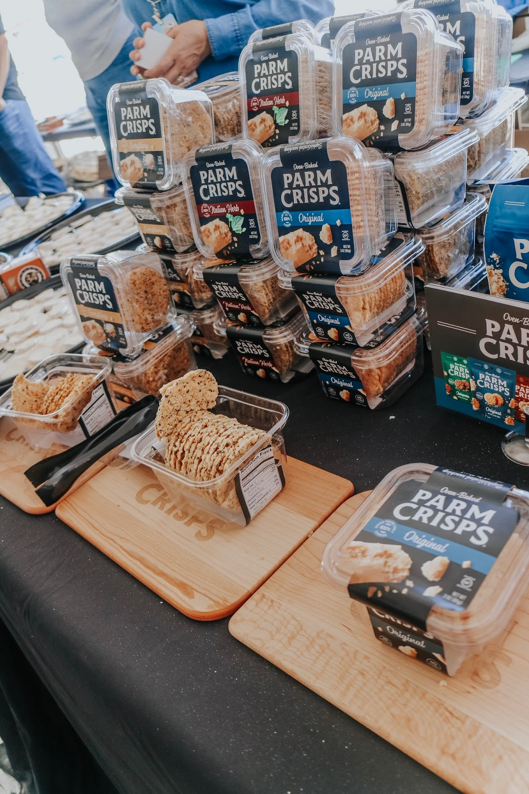 Parm Crisps at Clearwater Beach's Uncorked Food and Wine Festival