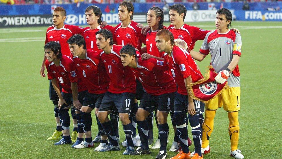 Formación de Chile ante Argentina, Copa del Mundo Sub-20 Canadá 2007, 19 de julio