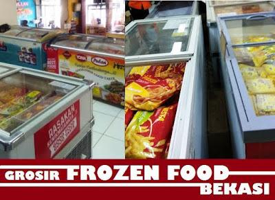 tempat belanja kulakan makanan beku murah daerah Bekasi