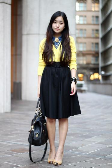 6c5a93f46d We love moda  Dile ¡Sí! a las faldas semi-largas