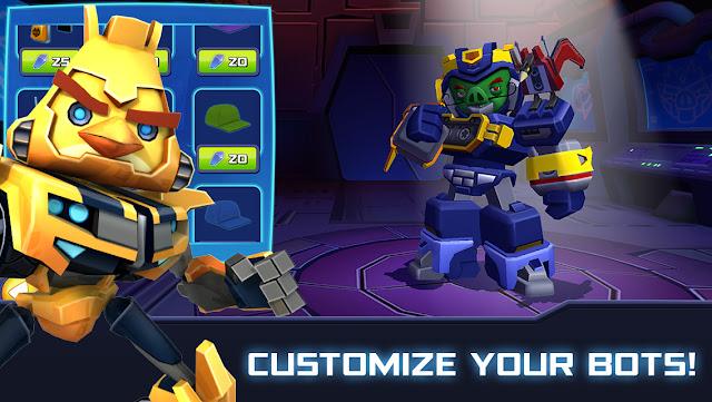 Angry Birds Transformers-Fredain.com