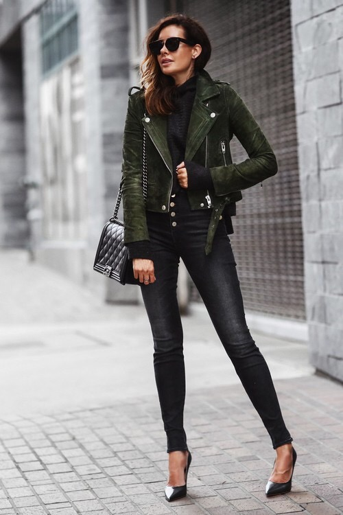 Fashion Inspiration 35 Inspiring Ways To Wear A Biker