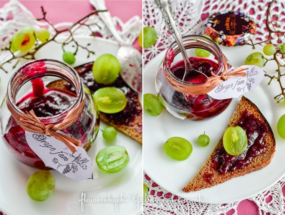 виноградный джем рецепт
