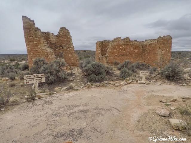 Hiking at Hovenweep National Monument