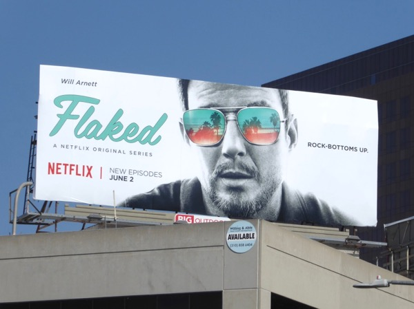 Will Arnett Flaked season 2 billboard