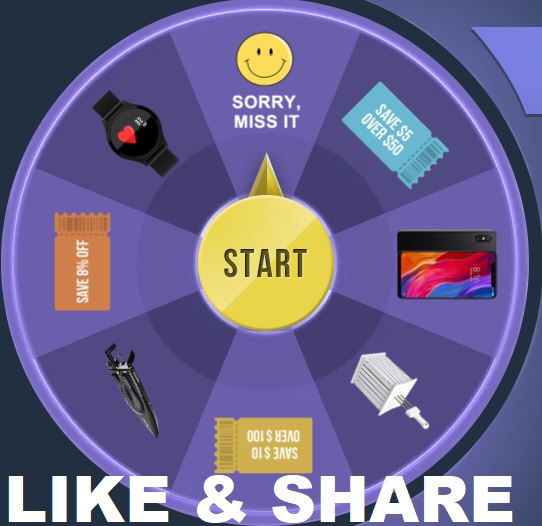 BlackFriday Lucky Wheel Spin and Win EPIC FREE GIFTS