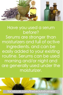 using serum to boost skin results