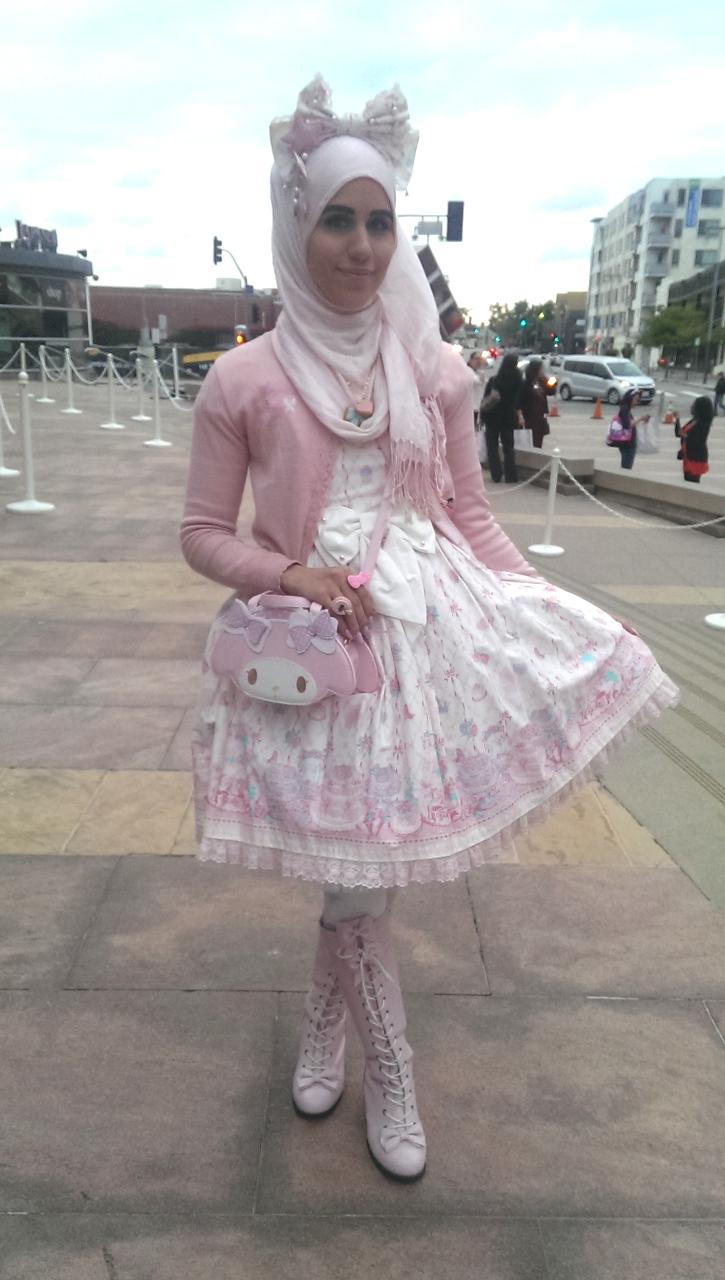 ازياء محجبات مستوحاة الموضة اليابانية tumblr_nosli6C0q91qi