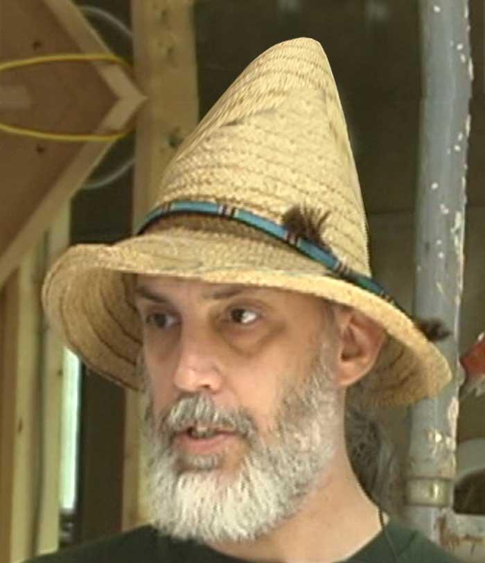 Dante s Wardrobe  A Summer Hat for a Wizard 02b9e1889e7