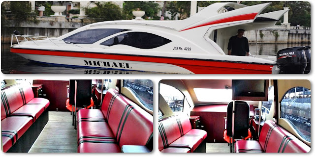 Sewa Kapal Speedboat Km. Michael