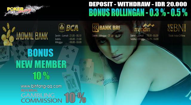 Pokerbintang Poker Online Paling di Rekomendasi Dengan 5000 Member Aktif Setiap Harinya