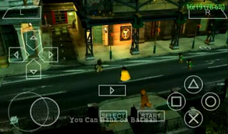 Game Lego Batman The Video Game ISO PPSSPP