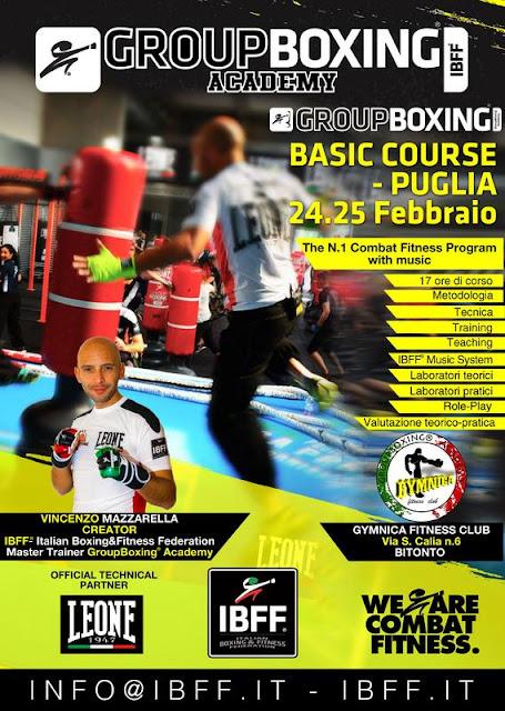 GroupBoxing. Basic - Puglia, 24.25 Febbraio a Bitonto (BA)