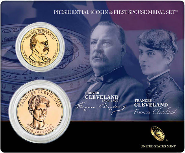 President Grover Cleveland & First Spouse Frances Cleveland