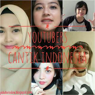 youtubers cantik