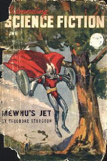 Cover of Astounding Science Fiction magazine, British edition, June 1947 issue.