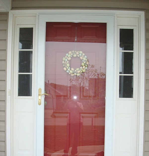 "Front Door Side Window Film: Making It Feel Like Home: ""Frosted"" Privacy Window"