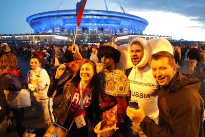 Tidak ada sekat antara laki-laki dan wanita di Rusia (sport.detik.com)
