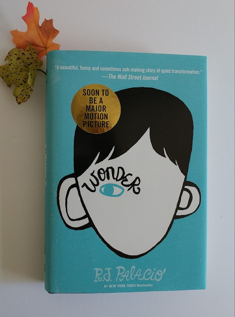 Wonder the book #ChooseKind #ad