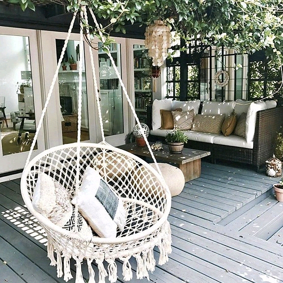 These Wonderful Suspended Beds Seats And Chair Swings For Either Indoor Or Outdoor Use I Think You Ll Agree This Ain T Yer Grandma S Porch Swing