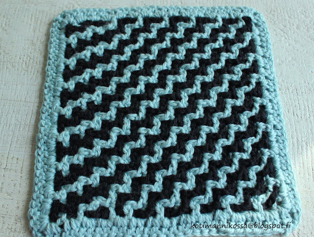 interlocking crochet ohje