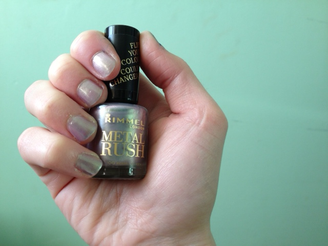 rimmel metal rush pearly queen