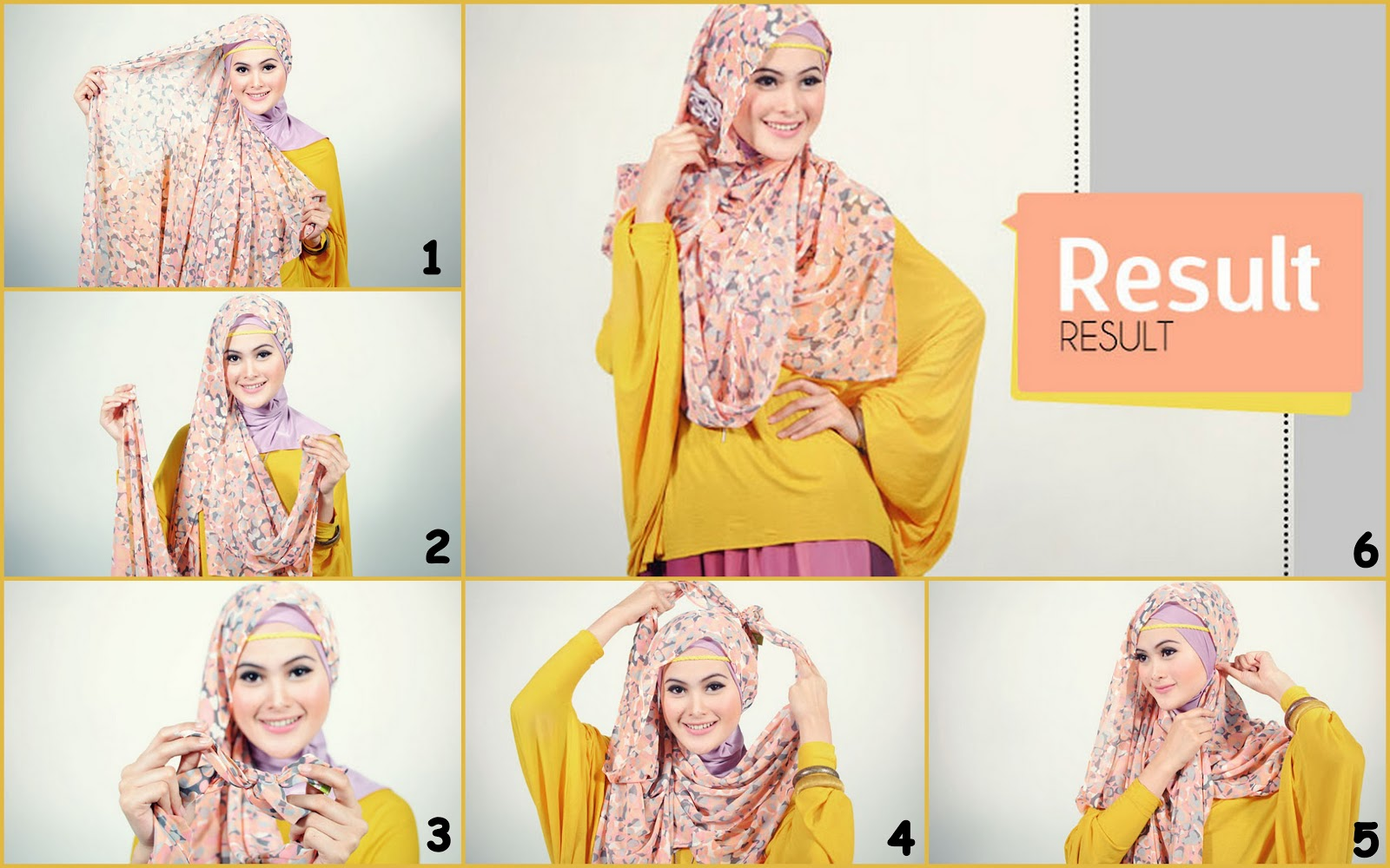 23 Koleksi Tutorial Hijab Pashmina Tipis Gratis Jilbab Burqabloom Simple And Easy