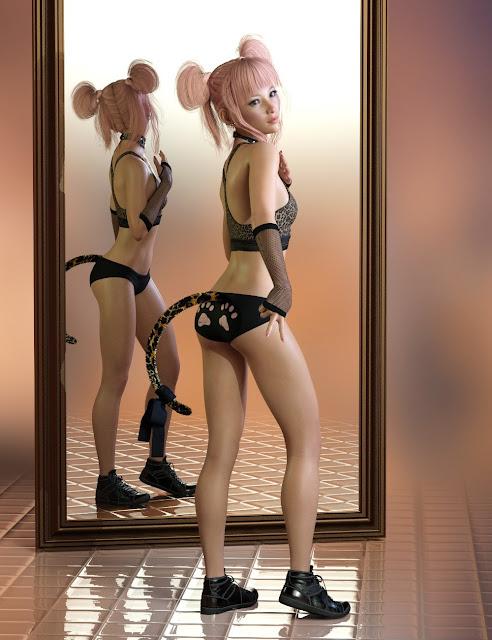 P3D Mirai for Genesis 8 Female