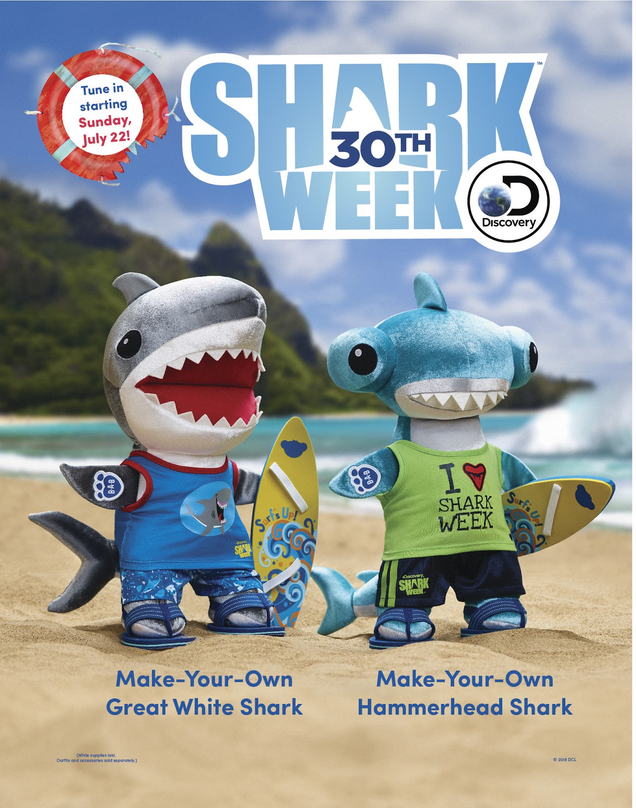 Idle Hands: Get Geared Up for SHARK WEEK!!