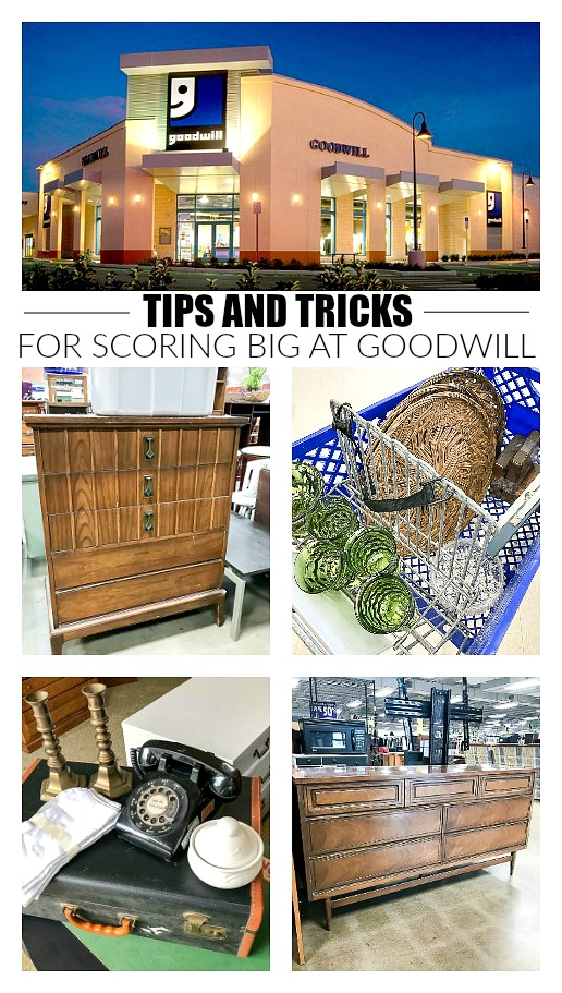 tips and tricks for scoring big at goodwill