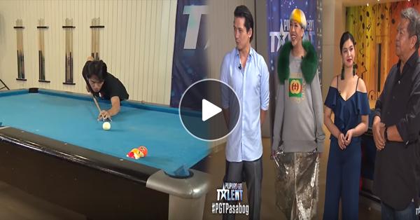 Jonacris Bandillo's Billiard Tricks Wow The Judges!