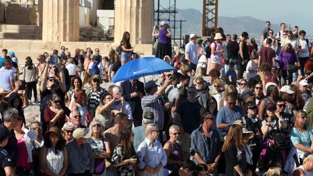 Βούλιαξαν φέτος οι τουρίστες την Ελλάδα - Οι Γερμανοί ξόδεψαν τα περισσότερα χρήματα