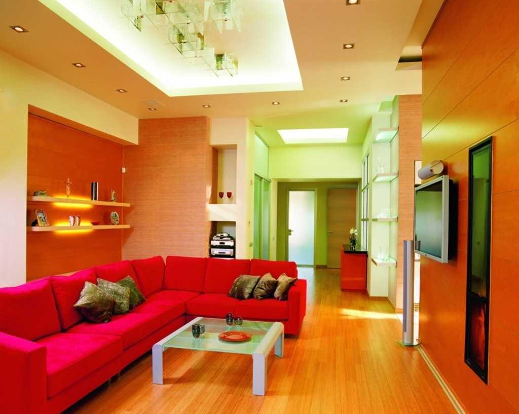 Warna Cat Ruang Tamu Peach