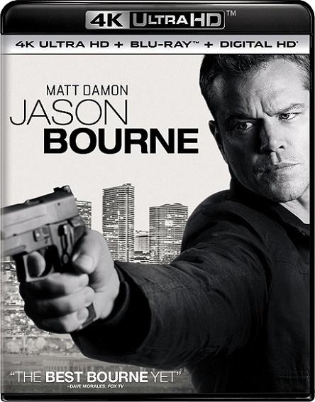 Jason Bourne 4K (2016) 2160p 4K UltraHD HDR BDRip 27GB mkv Dual Audio DTS-X 7.1 ch
