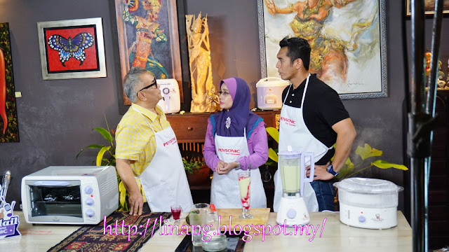 Dato' Chef Ismail, Fahrin Ahmad, Pensonic shooting