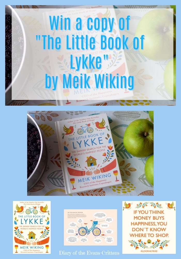 , Book Review & Competition:  The Little Book of Lykke