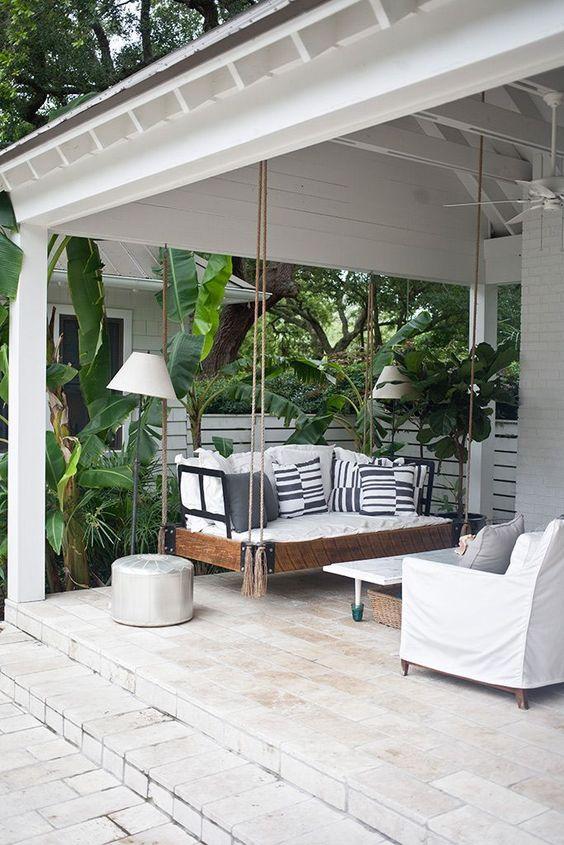 10 balancines perfectos para jardin y terraza cocochicdeco - Balancines de jardin ...
