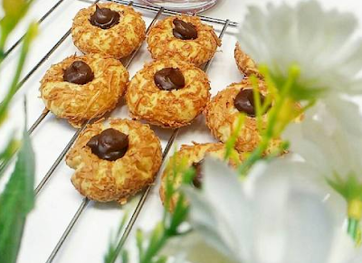Cornflakes Thumbprint Coklat