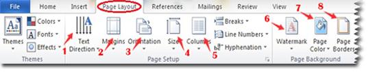 Belajar Komputer dasar, Toolbar,Page Layout