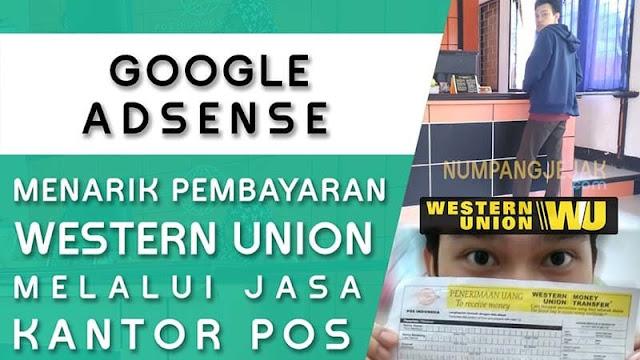 Menarik Pendapatan Google Adsense Dengan Western Union Di Kantor Pos