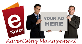 MBA Notes - Advertising Management Notes