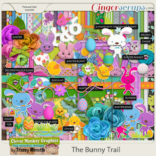 The Bunny Trail by Clever Monkey Graphics