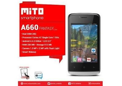 Spesifikasi dan Harga Mito A660 Fantasy lite