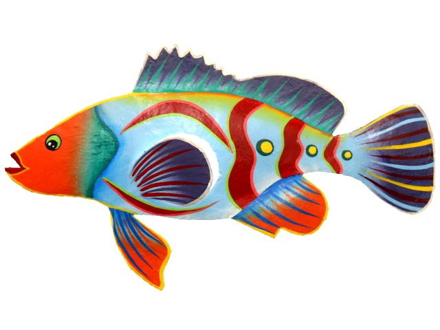 Dibujos De Peces A Color Para Imprimir: Peces Coloreados